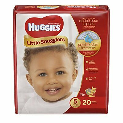 Huggies Little Snugglers Baby Diapers, Size 5, 20 Count