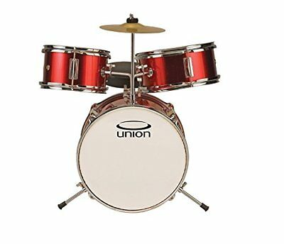 Union DBJ3067(MR) 3-Piece Toy Drum Set with Cymbal and