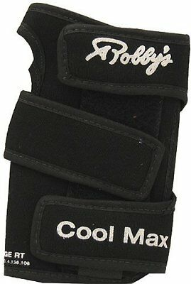 Robby's Coolmax Original Left Wrist Support, Black, X-L