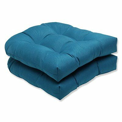 Pillow Perfect Wicker Seat Cushion with Sunbrella Spect