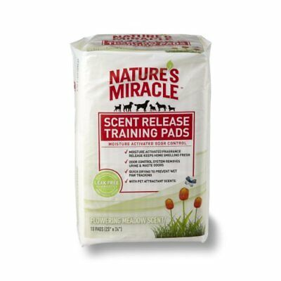 Nature's Miracle Scent Release Training Pads, Flowering
