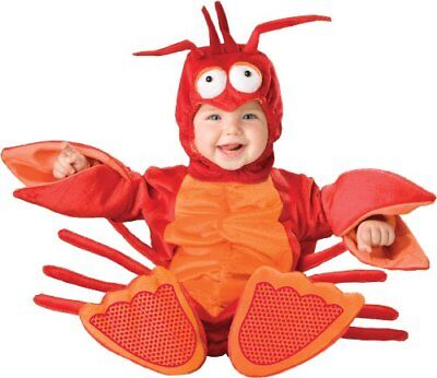 InCharacter Costumes Baby's Lil' Lobster Costume, Red/O