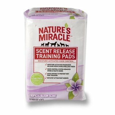 Nature's Miracle Scent Release Training Pads, Tropical
