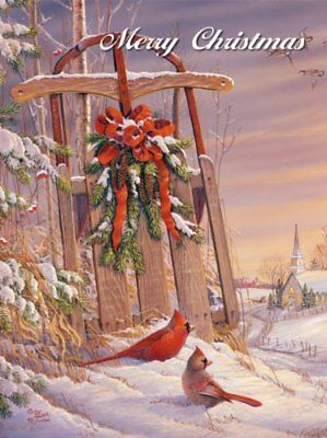 Perfect Timing - Lang Wintertime Cardinal Boxed Christm