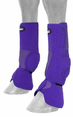 Tough 1 Performers 1st Choice Combo Boots, Purple, Medi