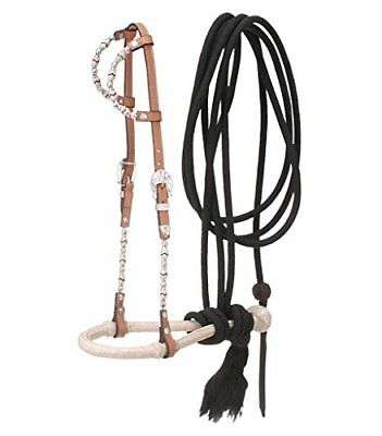 Tough 1 Royal King Double Ear Bosal/Mecate Set, Light O