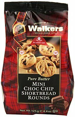 Walkers Shortbread Mini Chocolate Chip Rounds, 4.4 Oz.