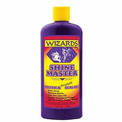 Wizards 11033 Shine Master Polish and Sealant - 16 oz.