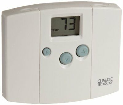 Supco 43054 Electronic Digital Wall Thermostats with Bl