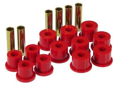 Prothane 7-1017 Red Rear Spring Eye and Shackle Bushing