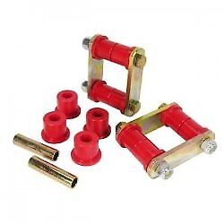 Prothane 24-47126 Red Rear Spring and Shackle Bushing