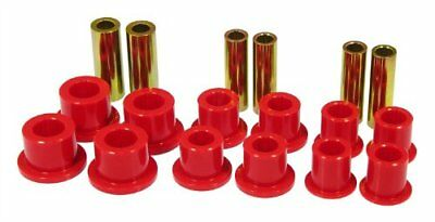 Prothane 6-1025 Red Front Spring and Shackle Bushing Ki