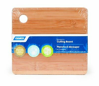 Camco 43542 Bamboo Cutting Board with Finger Hole