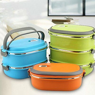 Hot Thermal Insulated Bento Stainless Steel Food Contai