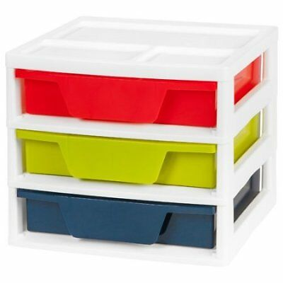IRIS Activity Chest with Organizer Top, Assorted Colors