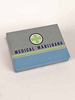 Blue Q Tin Box, Pocket Box, Medical Marijuana