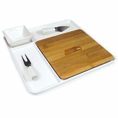 NFL Seattle Seahawks Homegating Peninsula Serving Tray