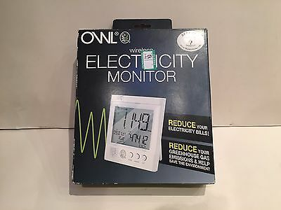 Owl Wireless Electricity Energy Monitor - Brand New - Smart Meter