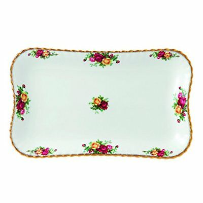 "Royal Albert 13"" Old Country Roses Tray, Multicolor"