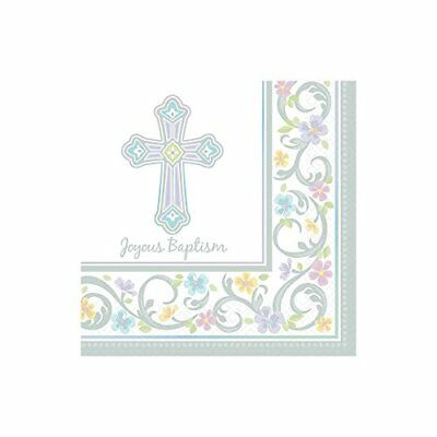 Blessed Day Baptism Lunchoen Napkin