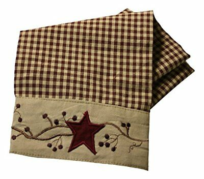 Stars And Berries Border Country Towel