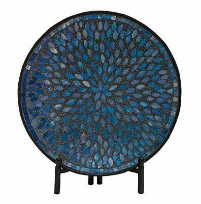 Classy Mosaic Pattern Platter with Stand