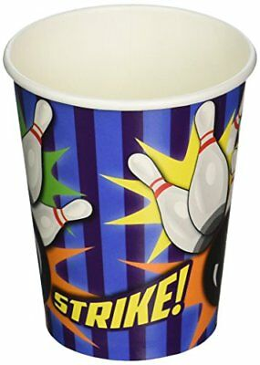 Bowling 9 Oz Cups (8 Pack) - Party Supplies