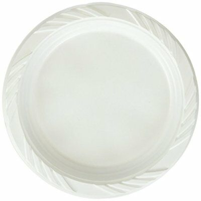 Blue Sky 200 Count Disposable White 6-inch Plastic Plat
