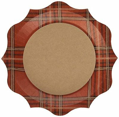 C.R. Gibson 8 Count Decorative Paper Dinner Plates, Eas