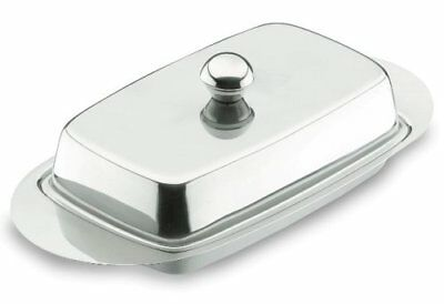 Lacor 62951 Butter Dish With Cover S/s. 18/10
