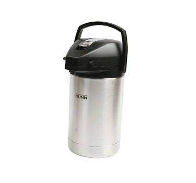 Bunn 32125.0000 2.5 Liter Stainless Steel Airpot