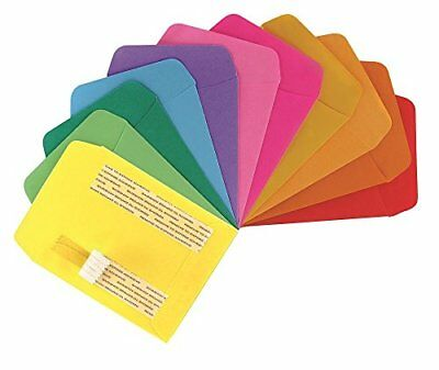 Hygloss Products Library Card Pockets, Self-Adhesive, 3