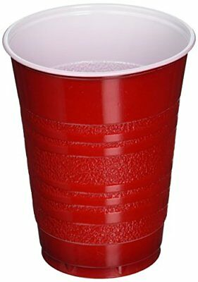 Daily Chef Red Plastic Cups (18 oz., 252 ct.)