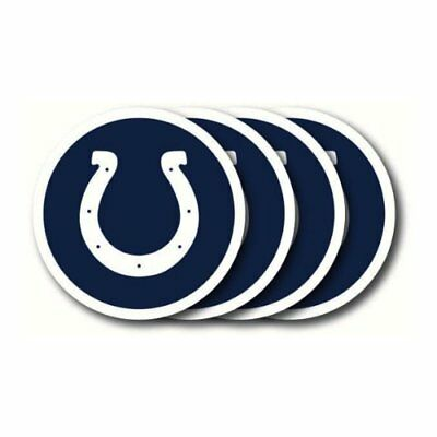 Duckhouse Set of 4 Coasters - Indianapolis Colts