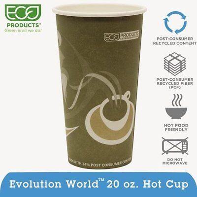 Eco-Products Evolution World 24% PCF Hot Drink Cups, 20