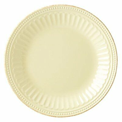 Lenox French Perle Groove Yellow Stoneware 8-inch Butte