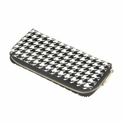 Koehler Home Decor Ladies Houndstooth Zip Wallet