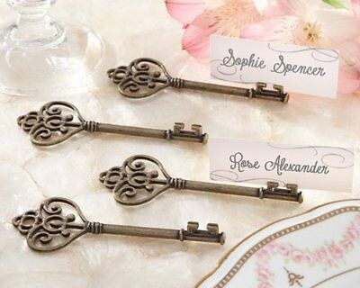 Key To My Heart' Victorian-Style Key Place Card Holder