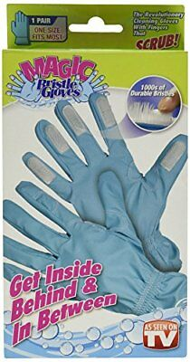 Magic Bristle Cleaning Gloves