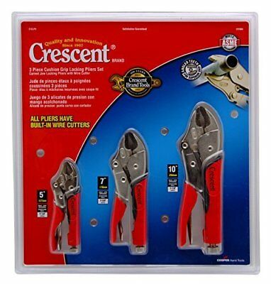 Crescent CLP3SETC 3 Piece 5-Inch, 7-Inch, and 10-Inch C