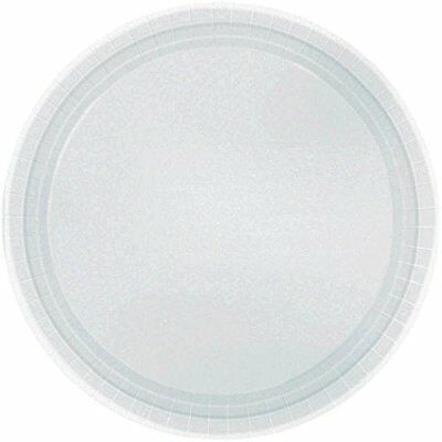 Party Ready Disposable Round Luncheon Plates Tableware,