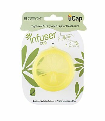 Blossom uCap Infuser Lid, Silicone, Fits Standard Mason