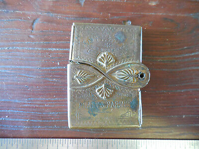 The Stella Pratt and Farmer Licencees Golden Needle Case pat.# 2998. dated 1869