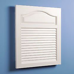 Jensen 615 Basic Louver Grained Wood Look Polystyrene R