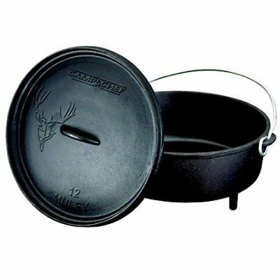 "Camp Chef Cast Iron Classic 10"" Dutch Oven"
