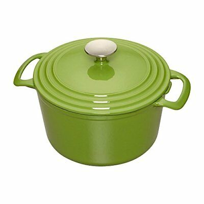 Cooks Enameled Cast Iron 5.5 quart Dutch Oven, Medium,