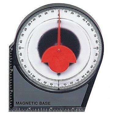 Dial Gauge Angle Finder Magnetic Protractor with Conver