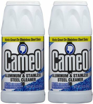 Cameo Aluminum & Stainless Steel Cleaner 10 oz. (Pack o
