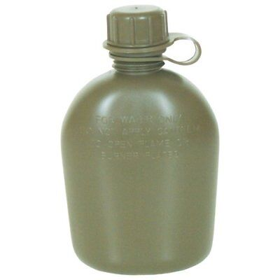 Fox Outdoor Products Canteen (3-Piece), Olive Drab, 1 q