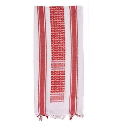 Fox Outdoor Products Tactical Shemagh, Red/White